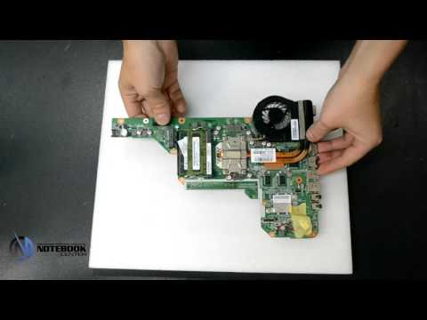 HP Pavilion g7 - Disassembly and cleaning