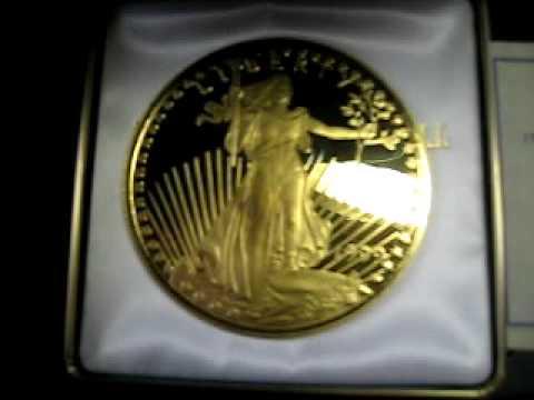 Quarter Pound Fine Silver Quot Golden Eagle Quot Round Youtube