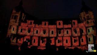Iluminacion Alhondiga, Bilbao. Noche Blanca 2013