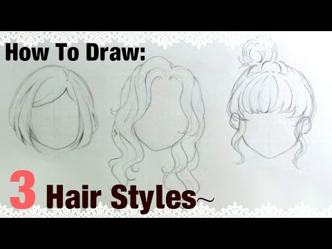 |how-to-draw|-3-manga-girl-hairstyles!