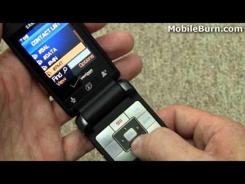 Samsung Haven For Verizon Wireless Tour