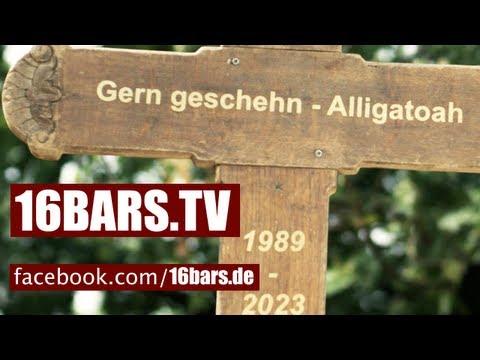 Alligatoah - Trauerfeier Lied (16BARS.TV PREMIERE)