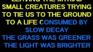 Pink Floyd - High Hopes (karaoke)