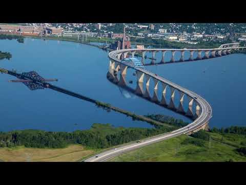 Duluth-Superior Aerial Harbor Tour (summer)