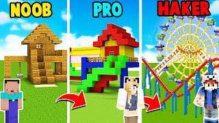 MINECRAFT - PLAC ZABAW | NOOB vs PRO vs HAKER | Vito vs Bella