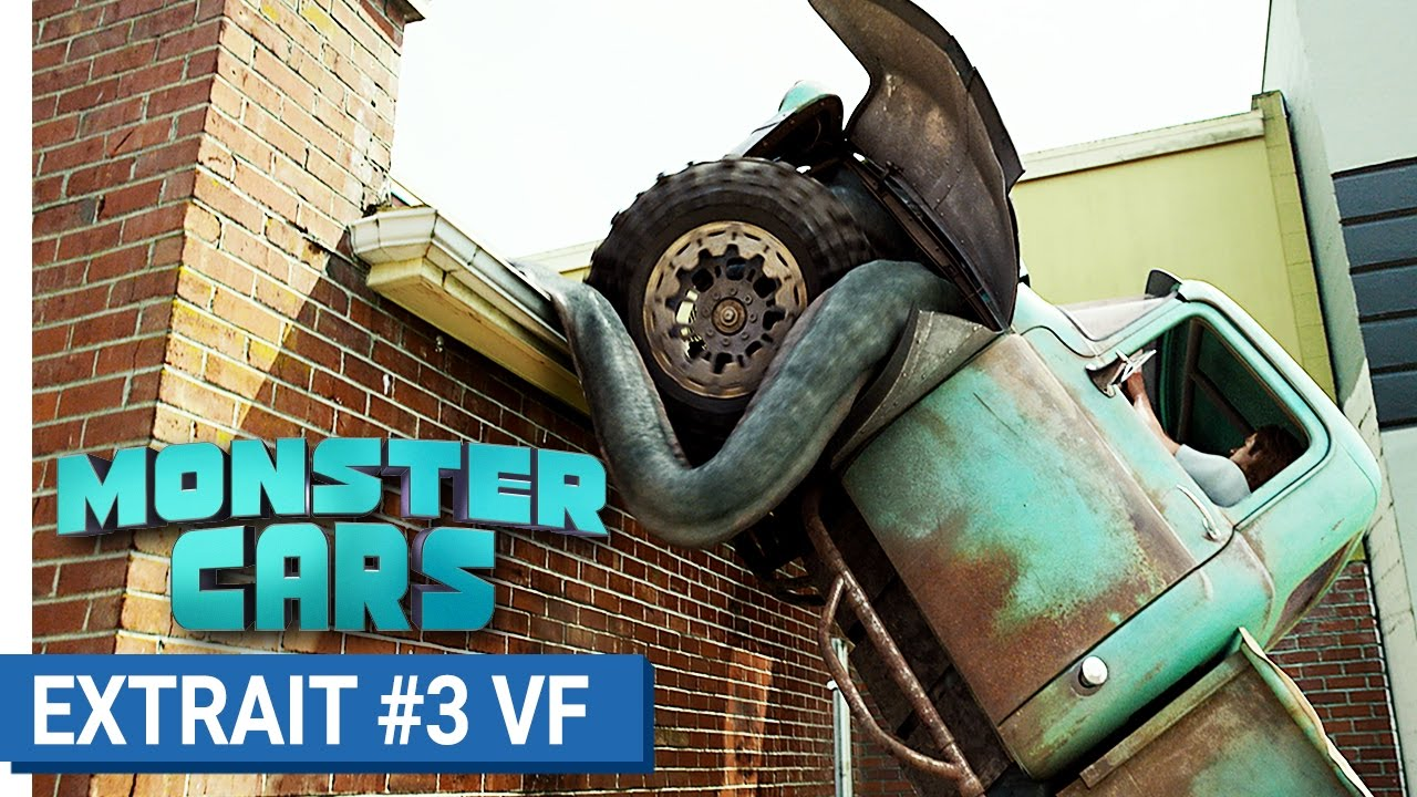 MONSTER CARS - À fond sur les toits