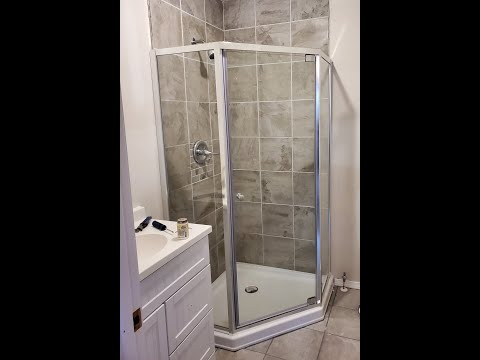 How to install glass shower doors. Maintenance minute with Jim Viebrock