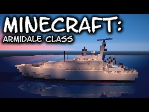 Minecraft: Armidale Class-Patrol Vessel Tutorial