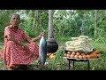 Tuna Fish Noodles - cooking 50 instant noodles in my village by Grandma