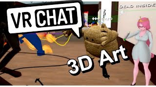 Forest Party and 3D art!! | VrChat