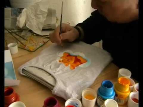 Pintar camisetas a mano youtube - Unas modelos para pintar ...
