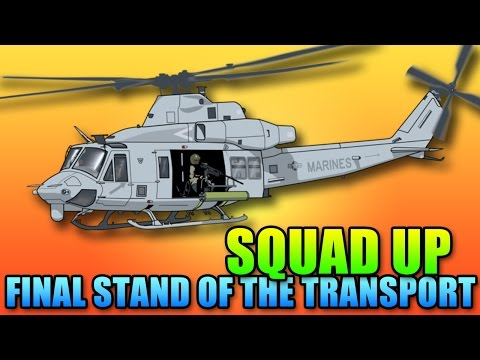 Final Stand Squad Up - Transport Team In The Hangar   Battlefield 4 Final Stand Gameplay