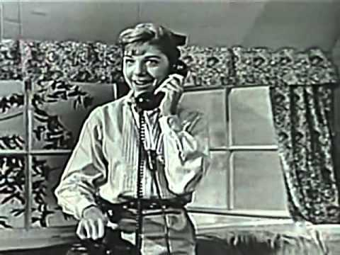 Dodie Stevens - Tan Shoes and Pink Shoelaces  1959