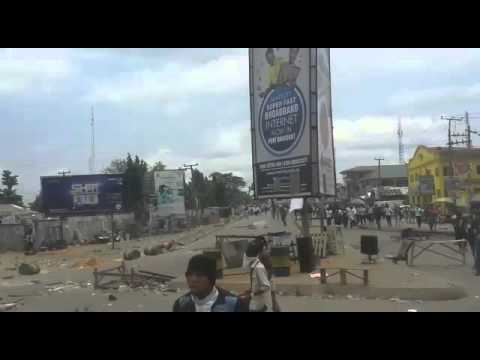 Uniport students protest