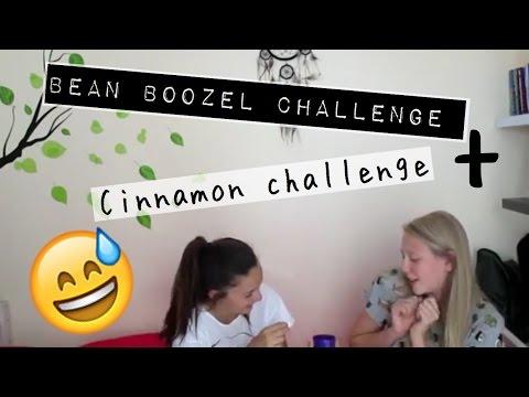 Bean Boozeled challenge+cinnamon challenge!!