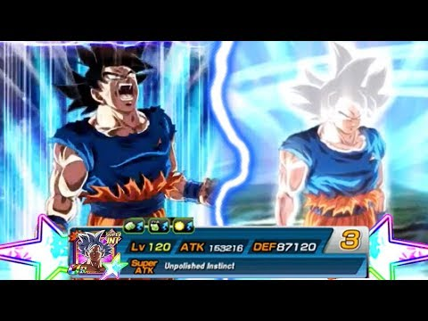 FIRST TRANSFORMATION ON GLOBAL | 100% MASTERED ULTRA INSTINCT GOKU | Dokkan Battle