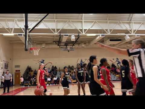 Tucker VS Peachtree MIDDLE SCHOOL GIRLS BASKETBALL Part 4