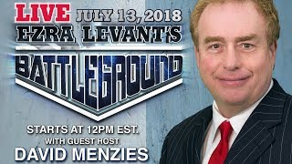 Battleground LIVE! Guest host David Menzies on Free-For-All-Friday