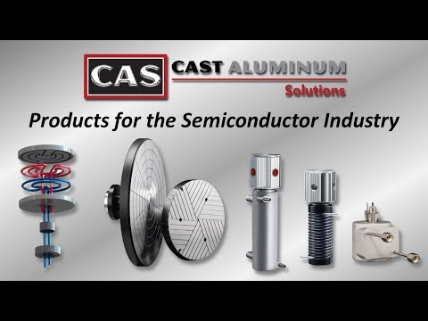 Cast Aluminum Solutions   Specialty Heaters for Semiconductor Wafer Processing