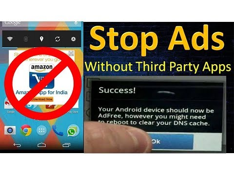 STOP all Ads/popup From Android Without 3rd Party Application