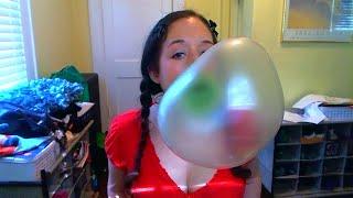 Blowing Big Green Bubbles
