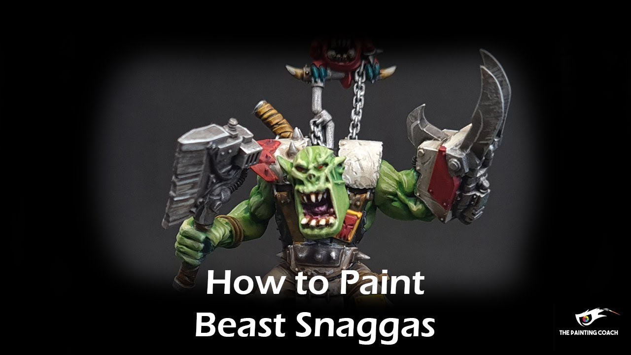 How to Paint Beast Snaggas