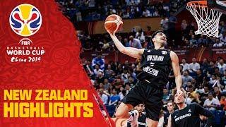 New Zealand   Top Plays & Highlights   FIBA Basketball World Cup 2019