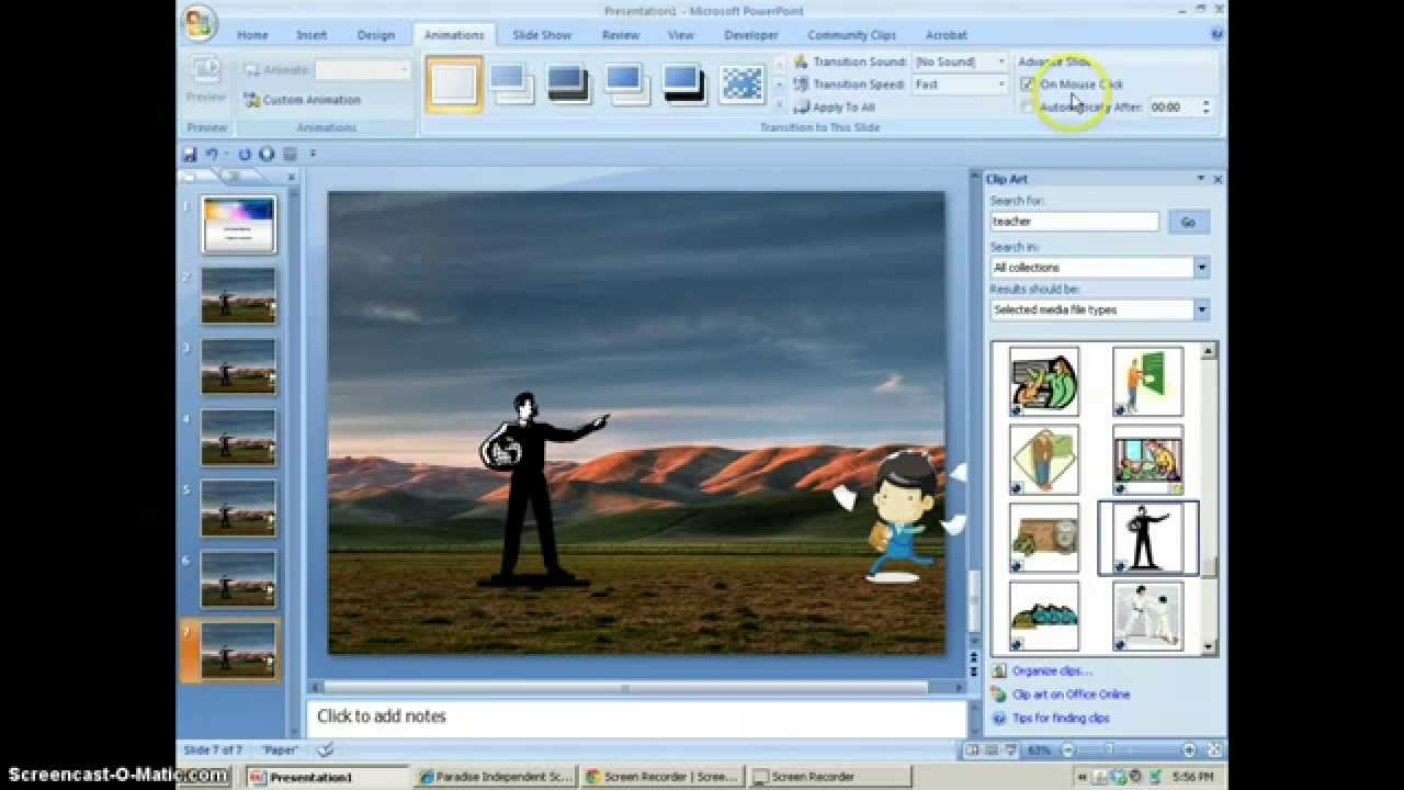 Animations flipbook with powerpoint youtube toneelgroepblik Images