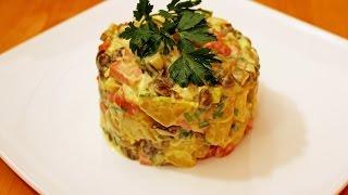 Салат с каперсами и сосисками (Ensalada Alemana) - Готовим вкусно и красиво