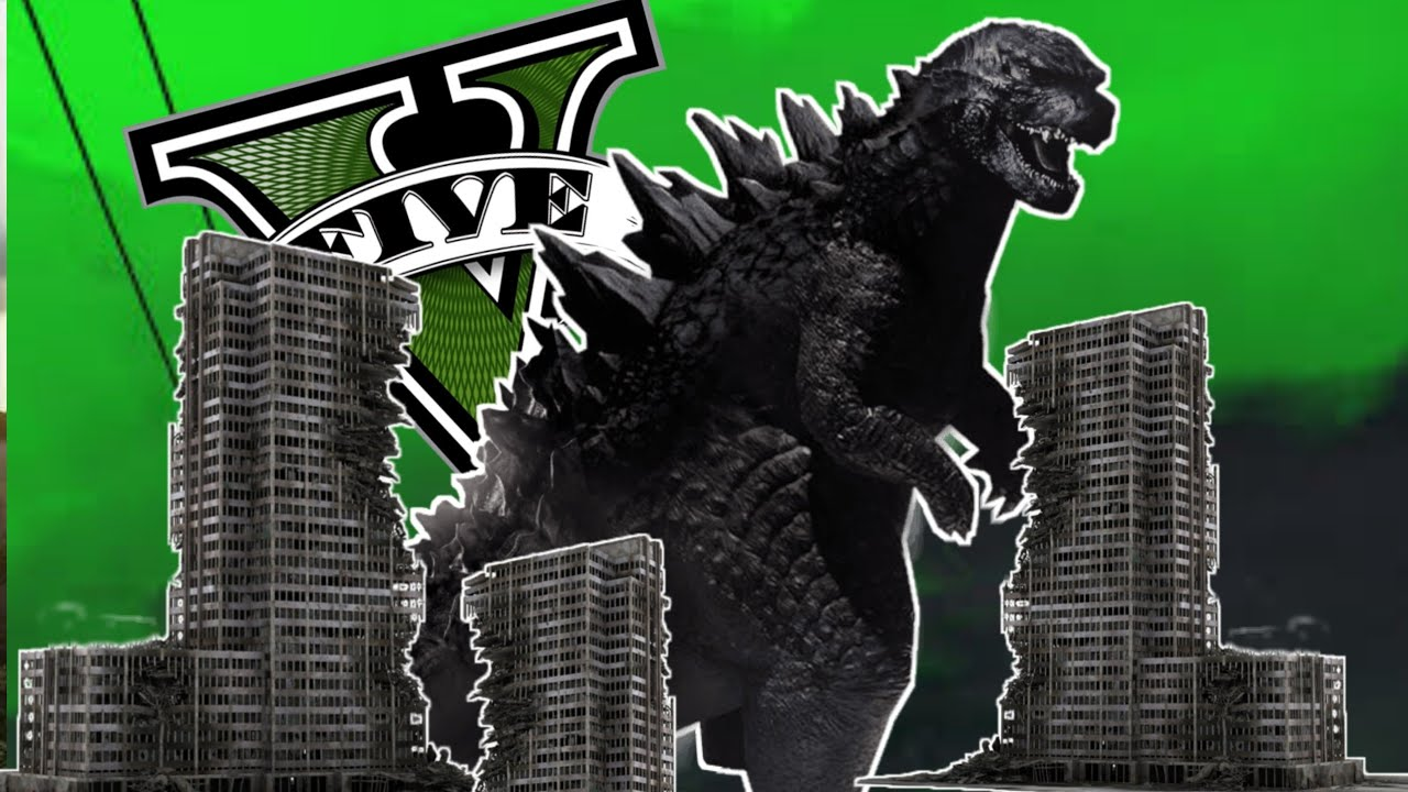 GODZILLA Destroys LOS SANTOS in GTA 5 !!