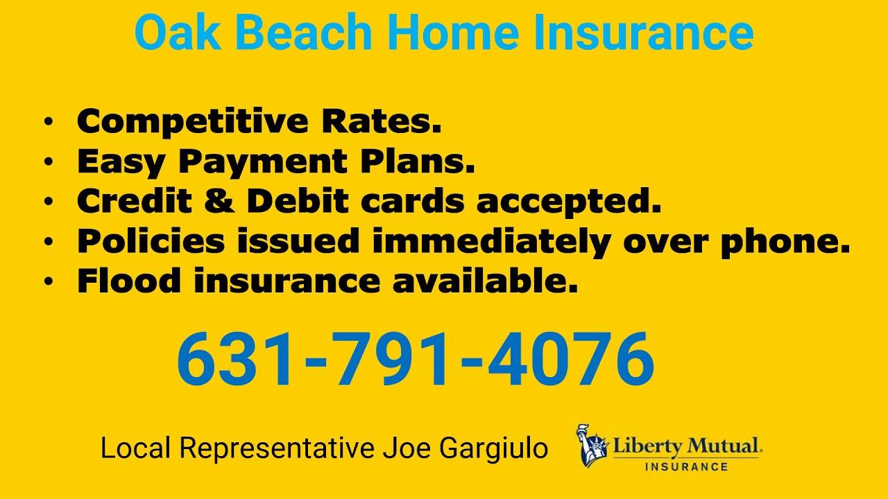 Oak Beach Home Insurance 631-791-4076 - YouTube