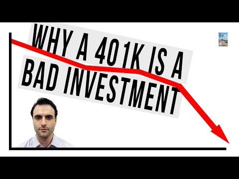 Why Your 401k Is A Bad Investment