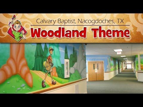 "Calvary Baptist Church, Nacogdoches, TX ""Woodland"" Children's Ministry Theme - Creative For Kids"