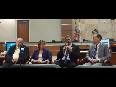 TAX BY MILE, TOLL LANE, PUBLIC TRANSPORTATION, AGENDA 21 PANEL. RIVERSIDE CALIFORNIA.