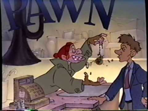 Oliver & Company (1988) Trailer (VHS Capture)