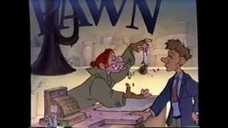 Oliver & Company (1988) Trailer (VHS Capture)
