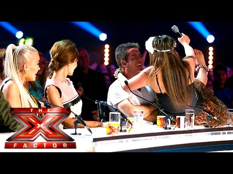 Jenesa's Hips Don't Lie | Auditions Week 3 | The X Factor UK 2015