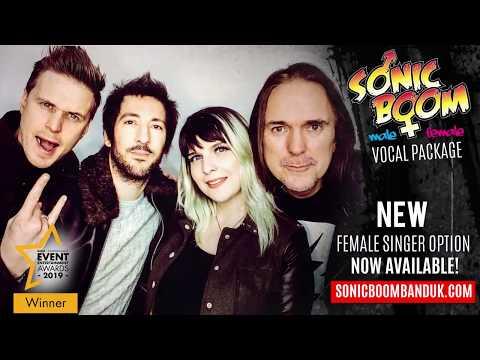 Sonic Boom Band Female Singer 100% LIVE