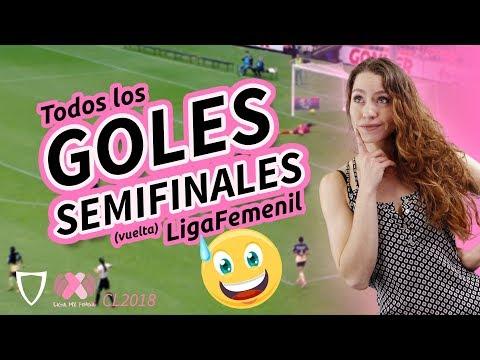 ¡GOLAZO de SOMBRERITO Lizbeth Ovalle! - Resumen Goles Liga MX FEMENIL Semifinales Vuelta, 2018