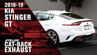 homepage tile video photo for Kia Stinger GT STILLEN Cat Back Exhaust Review