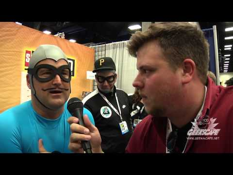 The Aquabats' MC Bat Commander Talks Season One Highlights And Directing Influences!