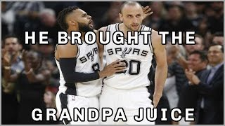Spurs vs Grizzlies Game 5 Highlights April 25 2017 | Ginobli bringing the grandpa juice