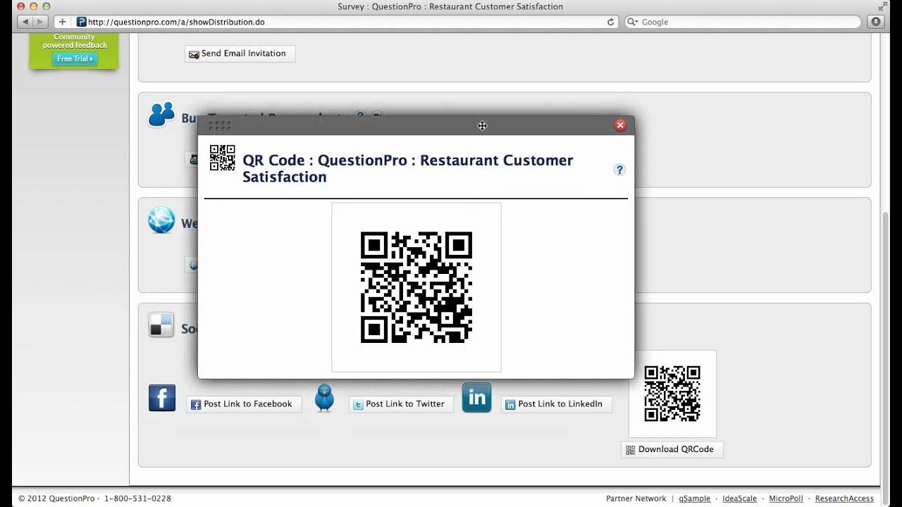 Using QR Codes for Digital Feedback