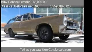 1967 Pontiac Lemans Station Wagon - for sale in , NC 27603 #VNclassics