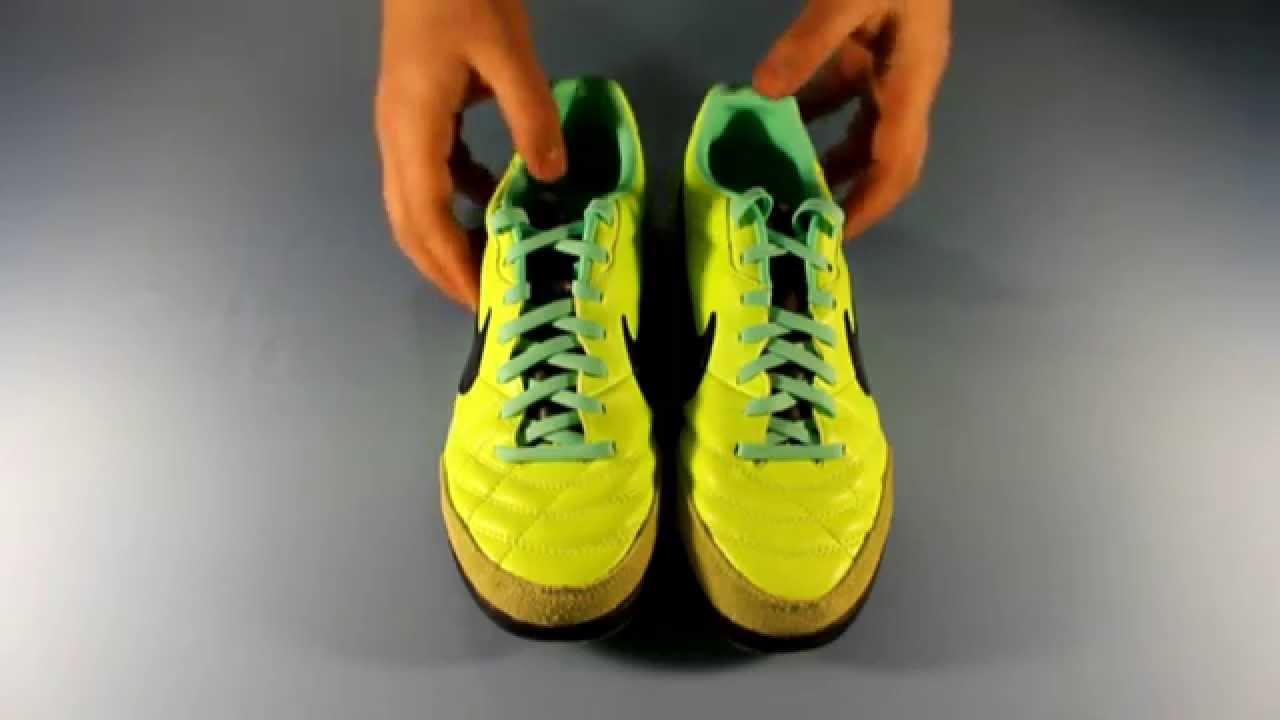 Сороконожки Nike Tiempo Mystic IV TF. Обзор модели. - YouTube b226b45d22aac