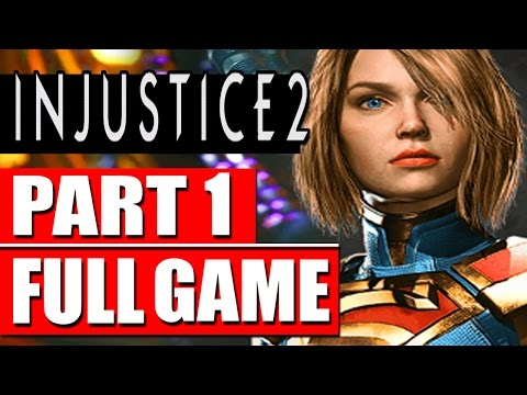INJUSTICE 2 Gameplay Walkthrough Part 1 FULL GAME + Alternative Endings (Chapters 1-12)