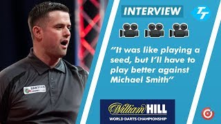 Luke Woodhouse on ALLY PALLY EXPERIENCE | Plus 'belief' that he can upset against Michael Smith
