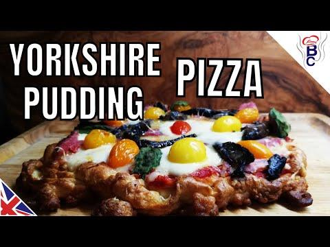 British Traditional Yorkshire Pudding Recipe Pizza Yorkshire Pudding Food Idea
