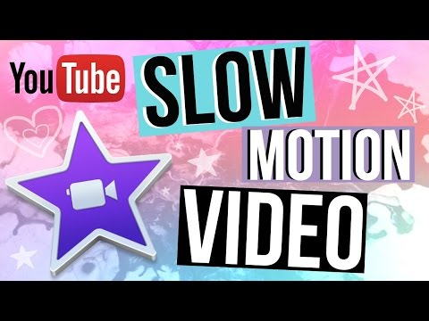 IMovie Tutorial: How To Slow Motion Video