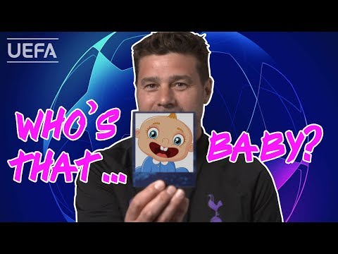 POCHETTINO tries to recognize his TOTTENHAM players from baby photos!!
